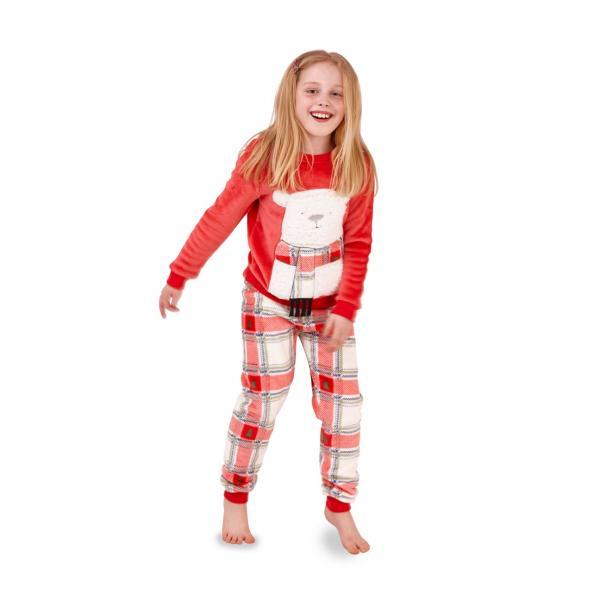 Piżama dziecięca dwuczęściowa Miś Polarny