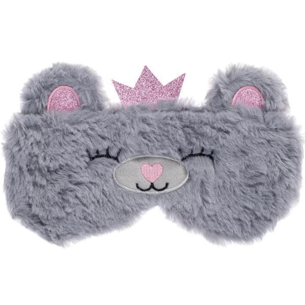 Maska do spania Miś z koroną