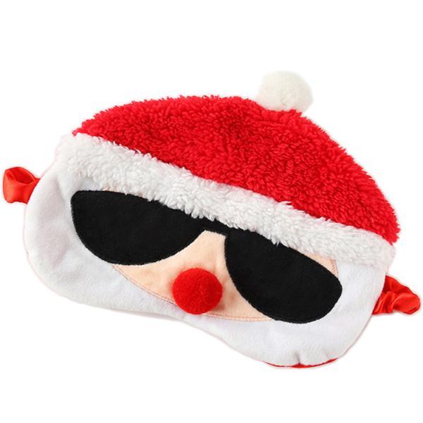 Maska do spania Mikołaj